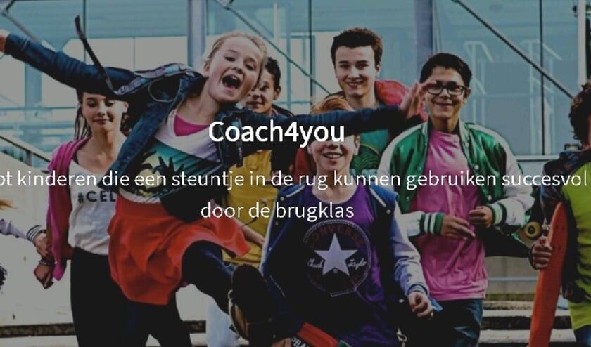 Coach4you helpt kinderen die een steuntje in de rug kunnen gebruiken succesvol door de brugklas