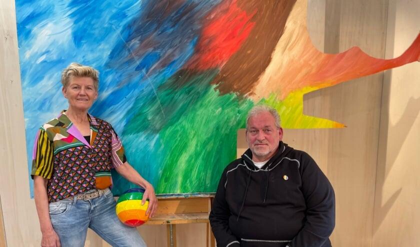 <p>Bep Timmer en Herman Boers zijn aangesteld als Regenboogambassadeur Sport en Zorg & Ouderen.</p>