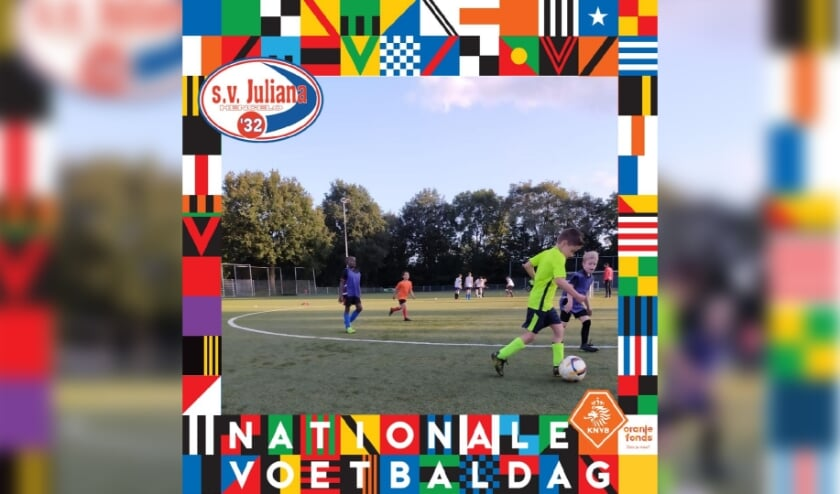 Op 12 juni is de Nationale Voetbaldag bij S.v. Juliana '32 op Sportpark Groot Driene