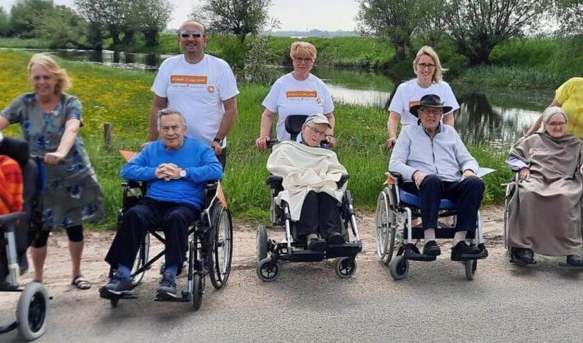 <p>Met de bewoners naar de Rijn!</p>