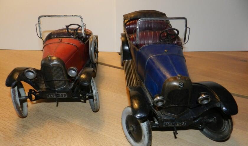Twee ouide modellen