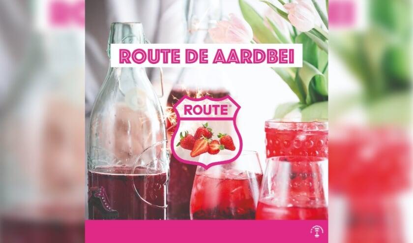 Route de Aardbei vol lekkernijen
