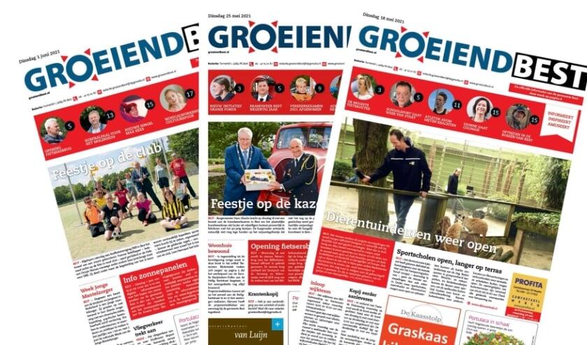 <p>Groeiend Best kent een lange historie. Al sinds 1958 ligt het blad week in, week uit bij alle Bestse huishoudens op de stoep.&nbsp;</p>