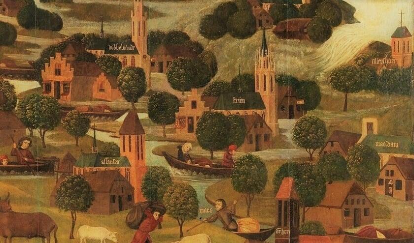 <p><em>Schilderij van de St. Elisabethsvloed, dit jaar 600 jaar geleden. Nu wordt de Hoeksche Waard opnieuw bedreigd.</em>&nbsp;</p>
