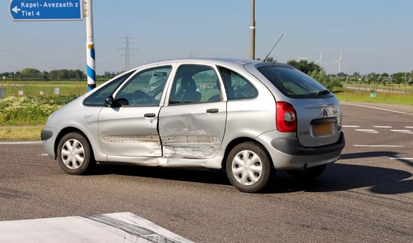 Ongeval op de N834