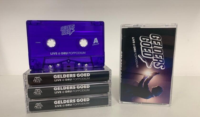 <p>De cassette.</p>