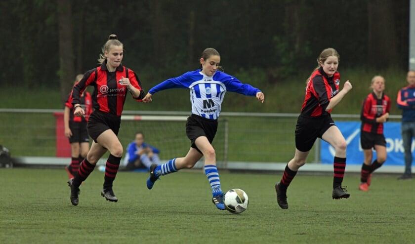 <p>Ook de meidenteams zijn vertegenwoordigd in deze Regiocup. </p>