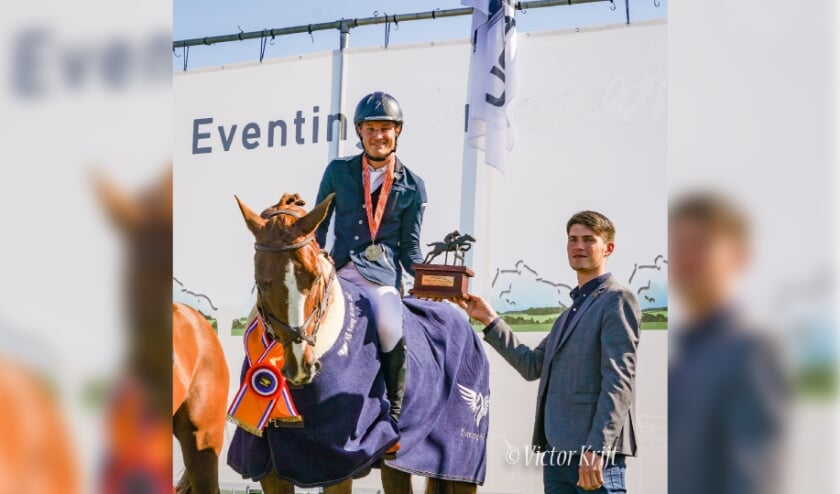Archieffoto 2020: De Nederlands Kampioen Eventing Youg Riders Bjinse Venderbosch