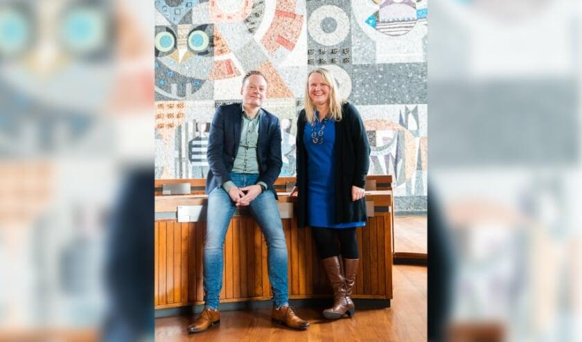 Susanne van den Beukel en Herman Groeneveld
