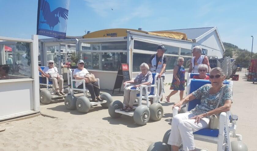 <p>Vorige week ging de afdeling Charlois naar het strand. Het was er prachtig weer voor, genieten dus voor de deelnemers! </p>
