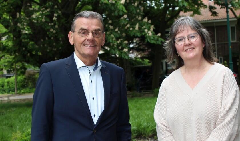 <p>Wethouder Gerard van As en gemeentelijk projectleider Marja de Loos geven een update over project Snippergroen</p>