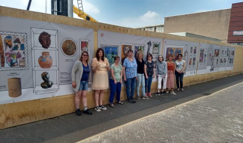 <p>&nbsp;De kunstenaars van Atelier Verfstreken in Alphen aan den Rijn hebben zich door de Romeinen laten inspireren.</p>